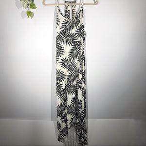 C&C California | Tropical Palm Leaves Maxi Dress